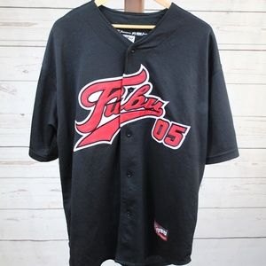 Vintage FUBU 05 Baseball Jersey Official Classic